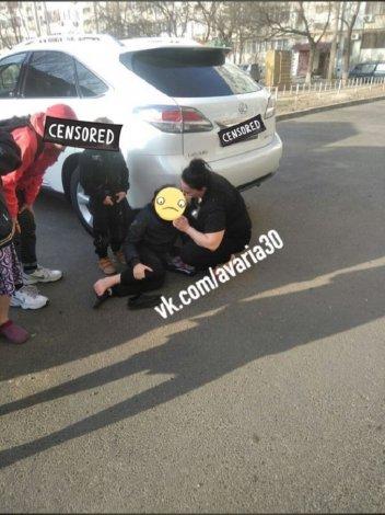 В Астрахани мальчик оказался под колёсами такси