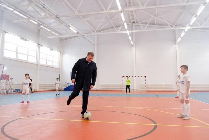 В Астрахани открылся новый спорткомплекс