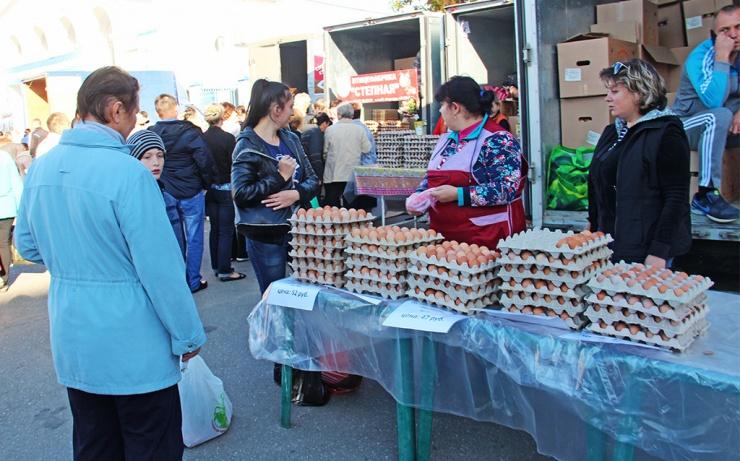 В январе по Астраханской области зафиксирован рост цен
