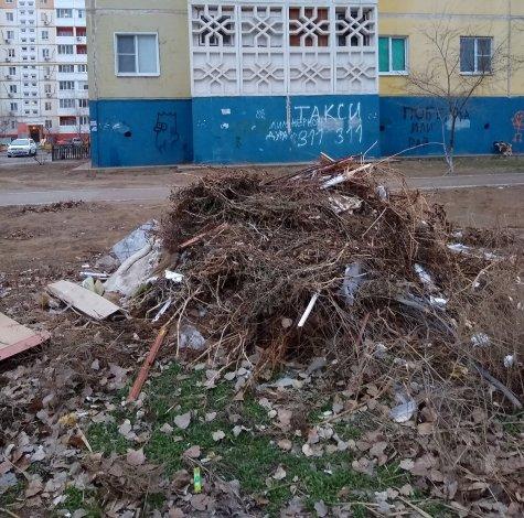 Астраханцы жалуются на свалку в микрорайоне Бабаевского