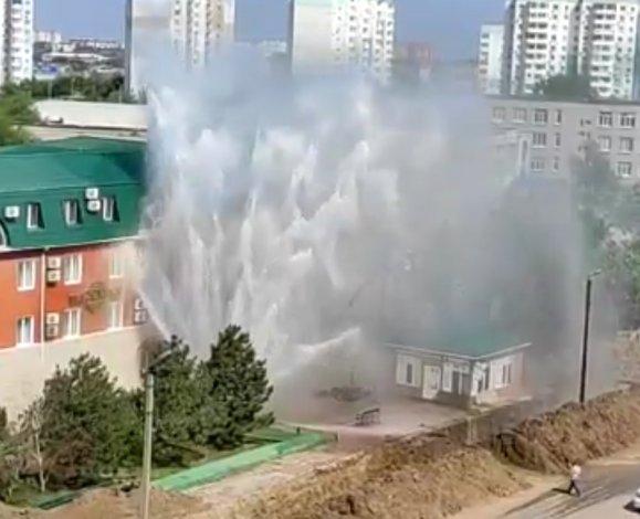 Астраханцев предостерегли от пересечения «мест выхода воды на поверхность»