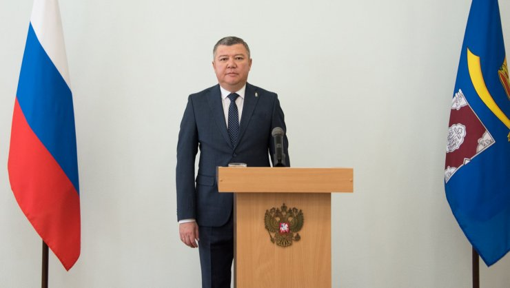 Как проходила инаугурация Бисенова: фоторепортаж из Красноярского района
