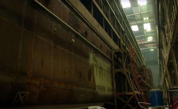 «Коммерсантъ»: срок сдачи круизного лайнера «Петр Великий» сдвинут