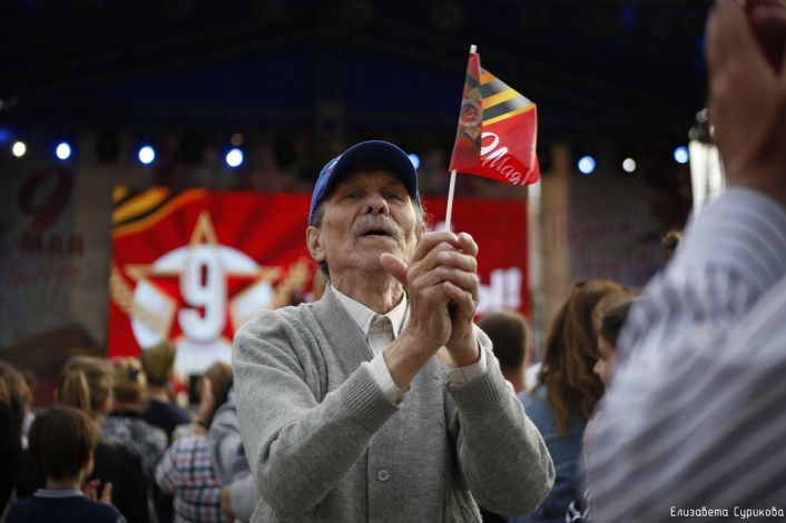 Как проходил концерт в честь Дня Победы в Астрахани