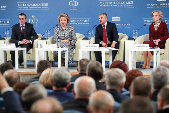 Игорь Мартынов принял участие в заседании Совета законодателей