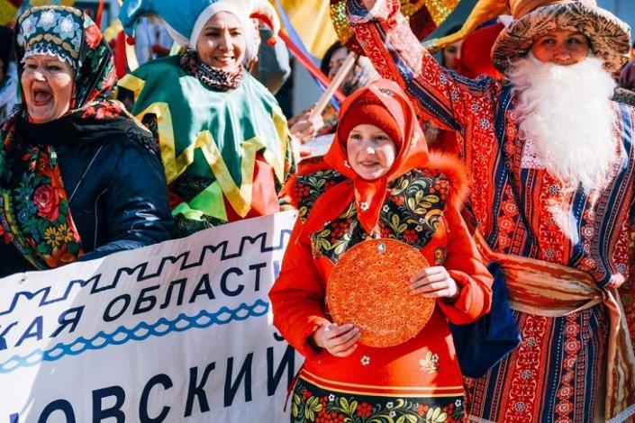 В Астрахани Масленица будет действительно Широкой