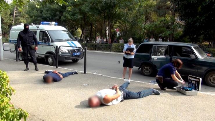 Астраханская полиция задержала тольяттинских уголовников
