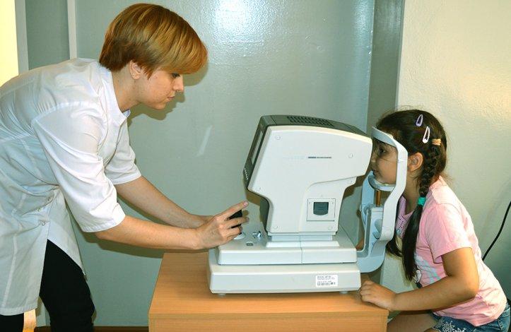 Астраханским детям стали лучше лечить глаза