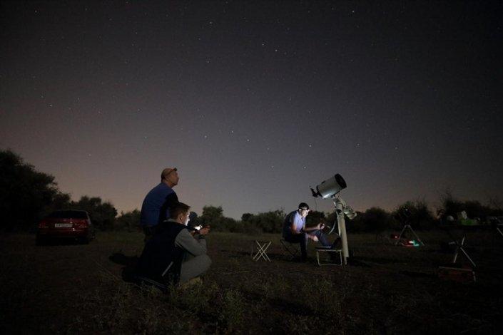Астраханские астрономы готовятся к звездопаду 12 августа