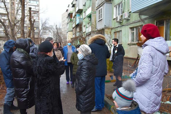 Дом в центре Астрахани ложно назван аварийным