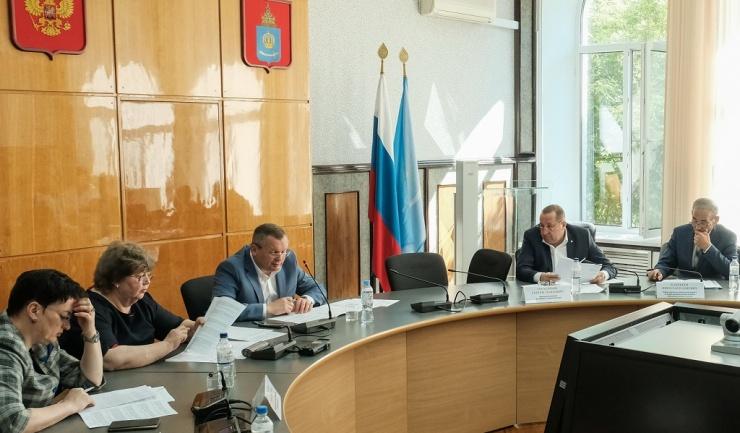 Определена повестка предстоящего заседания Думы Астраханской области