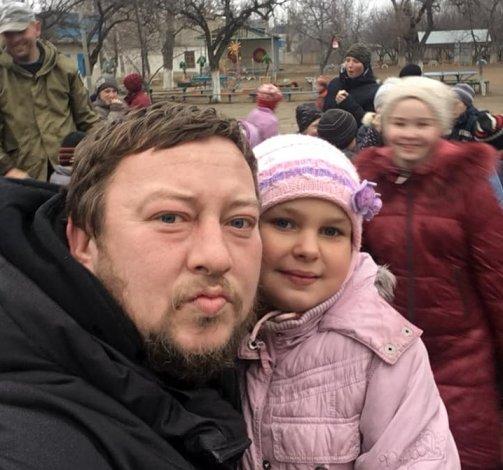 Астраханский шоумен завершил благотворительную поездку по Новороссии