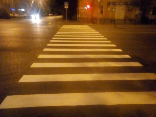 К новому учебному году – обновленные пешеходные переходы