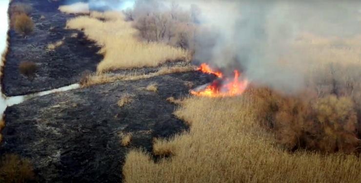 Замминистра МЧС предупредил о пожароопасности в Астраханской области