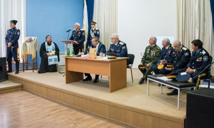Казаки наградили спикера астраханской облдумы Мартынова