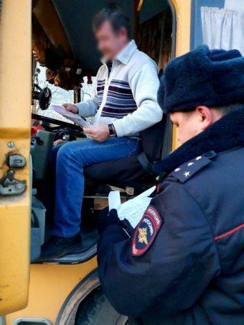 В Астраханской области идёт III этап рейда «Безопасный маршрут»
