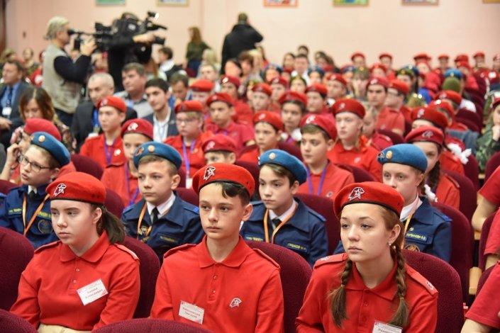 В Астрахани прошел первый городской форум движения «Юнармия»