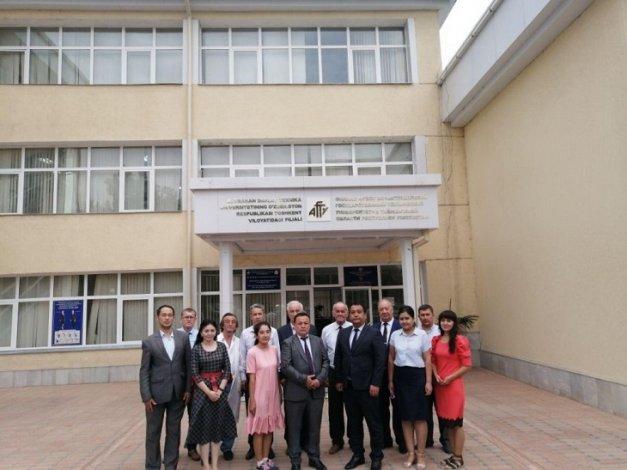 В Узбекистане заработал филиал астраханского вуза