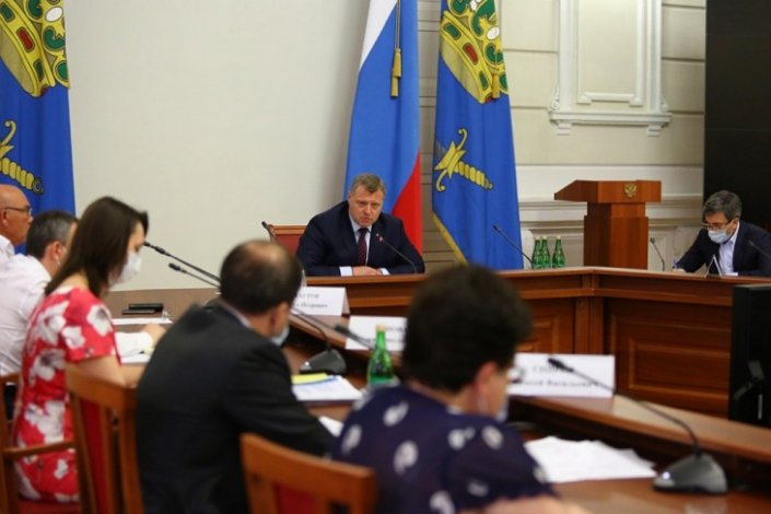 В Астрахани намечен курс на ослабление ограничительных мер