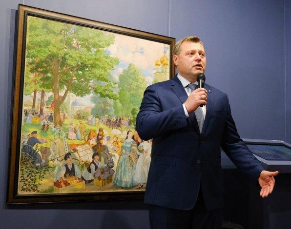 Астраханский губернатор открыл сокровища музеев мира
