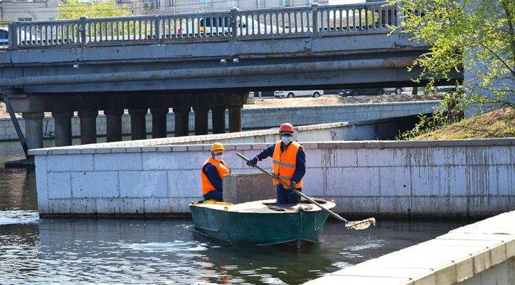 Астраханские мосты и каналы приводят в порядок