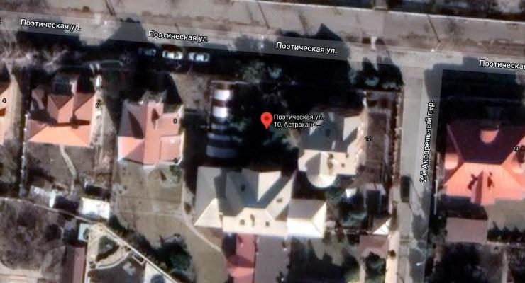 В астраханской «Санта-Барбаре» горел коттедж