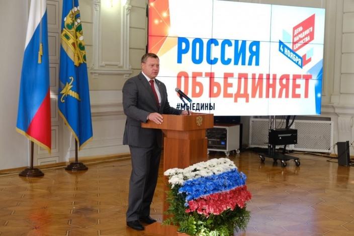 В День народного единства Игорь Бабушкин отметил роль этноконфессионального совета в укреплении межнационального мира