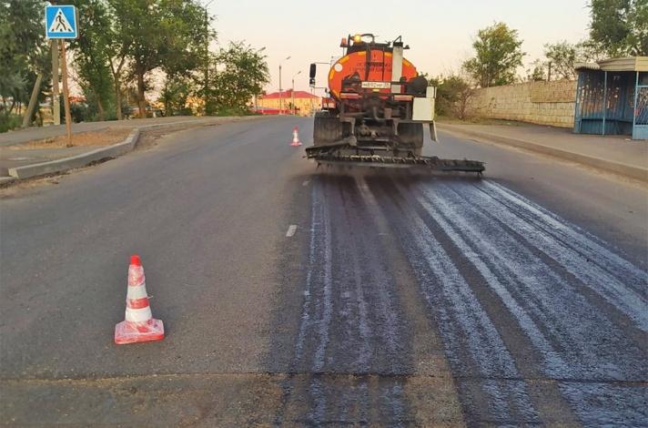 На улице 5-я Керченская в Астрахани завершается капитальный ремонт дороги