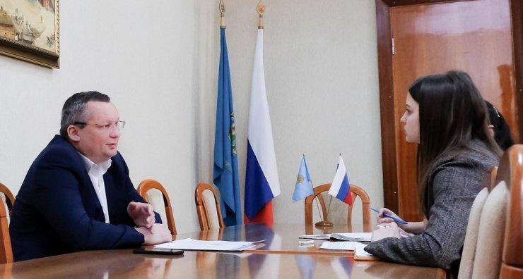 Игорь Мартынов рассказал о своей работе в попечительском совете АГУ