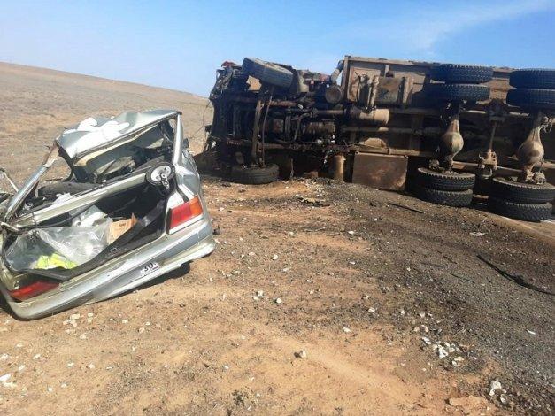 В Астраханской области в автокатастрофе погиб мужчина