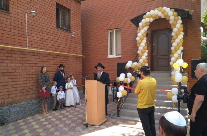 В Астрахани открылась обновлённая синагога
