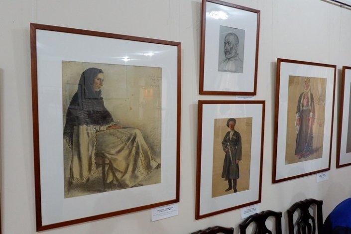 Астраханцев приглашают на выставку Евгения Лансере