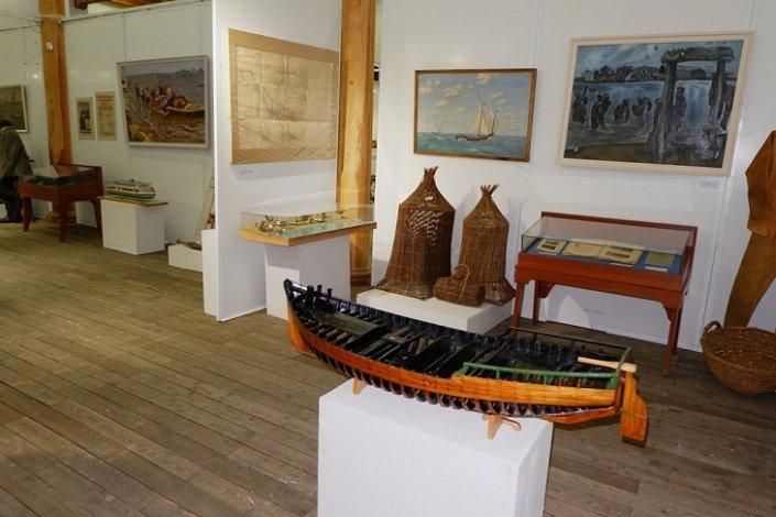 Астраханской рыбалке посвятили выставку
