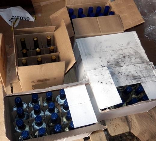 Астраханская ОПГ промышляла фальшивым алкоголем