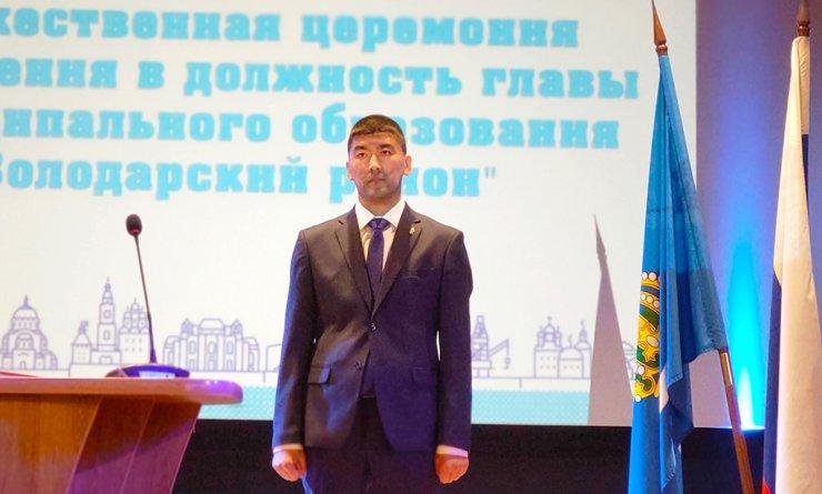 Тонкости инаугурации нового главы Володарского района Хамзы Исмуханова и первое интервью