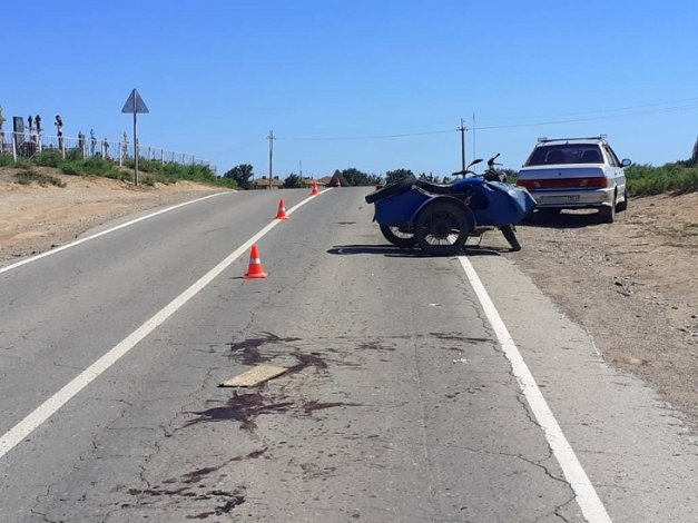 Пьяный мотоциклист спровоцировал ДТП под Астраханью