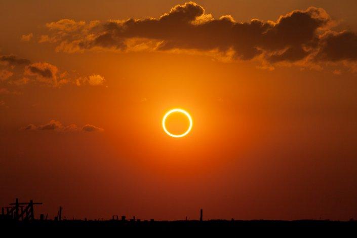 Астраханцы смогут увидеть солнечное затмение 21 июня
