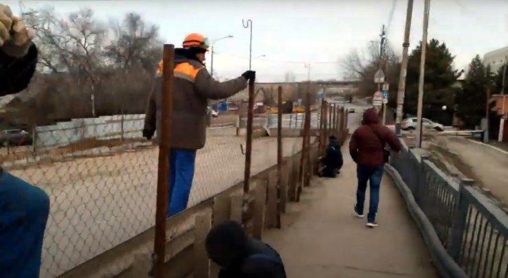 Раскрыта ситуация вокруг ремонта Милицейского моста в Астрахани