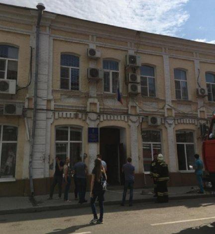 В Астрахани горело облминспорта
