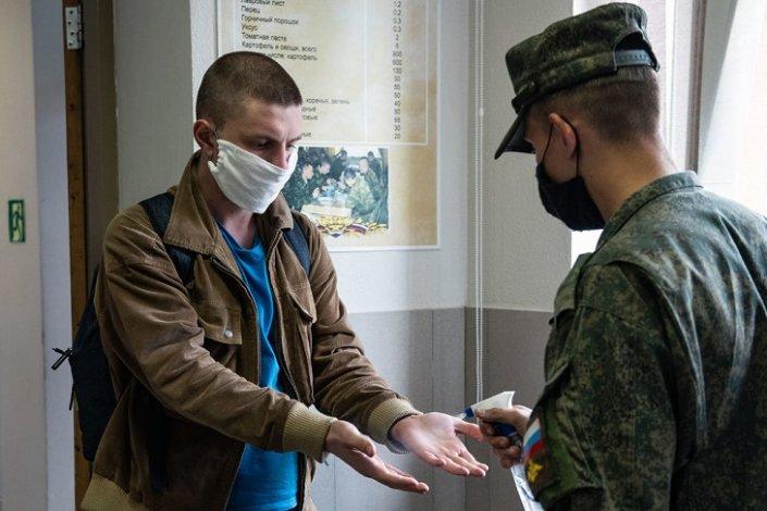 В Астраханской области начался осенний призыв