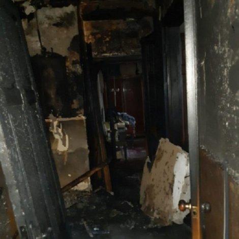 В результате пожара в центре Астрахани погибла старушка