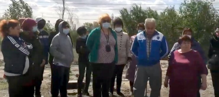 Протестующие жители Астраханской области озвучили свои требования