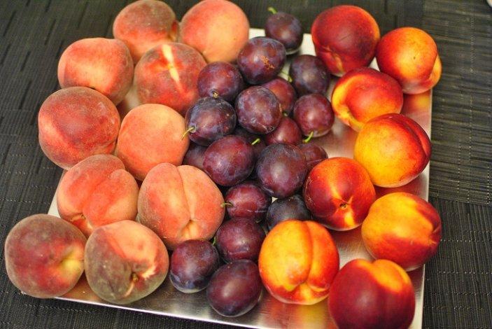В садах под Астраханью наступил сезон персиков и слив