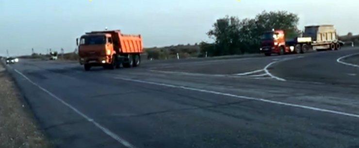 Протестующие астраханцы показали, как «Газпром» перевозит серу