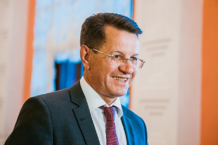 Экс-губернатор Астраханской области Жилкин вновь появился на публике
