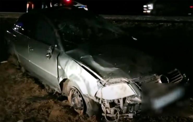 Житель Калмыкии разбился насмерть в ДТП под Астраханью