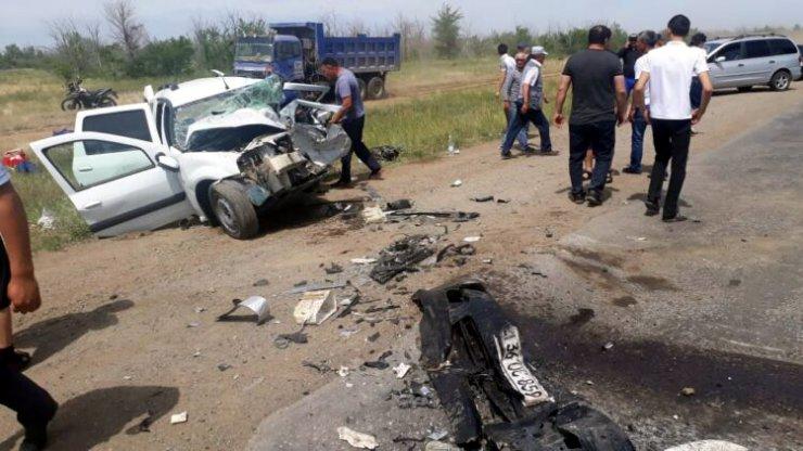 ДТП на трассе Актобе-Астрахань унесло жизни пятерых