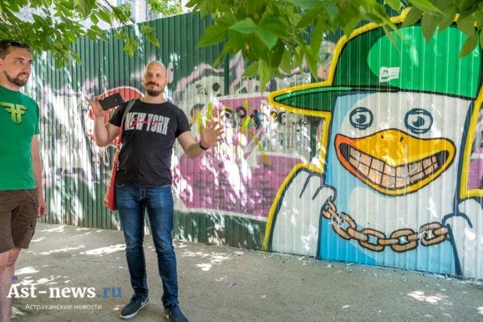 С наркодилерами в Астрахани беспощадно борется Жора