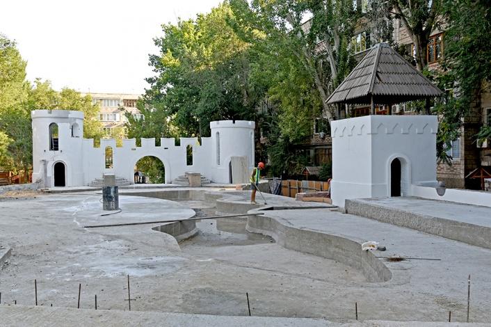«Русь былинная» в Военном городке Астрахани обретает вторую жизнь