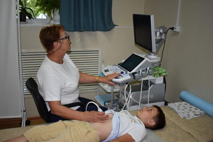 В астраханской детской больнице появились новые виды УЗИ